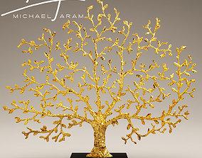 3D statuette tree