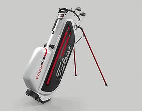 Titleist White StaDry Golf Bag Plus 3D