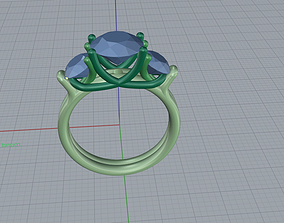 art Ring 3d print model