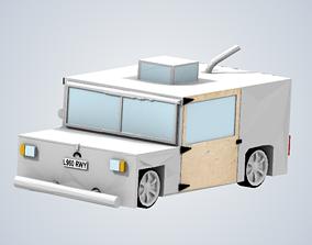 HAMMERHEAD EAGLE ITHRUST ELECTRIC CAR 3D printable model