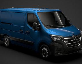 3D model Renault Master L1H1 Van 2020