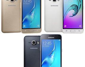 3D model Samsung Galaxy J1 2016 all color