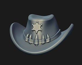 3D printable model Sheriff Hat