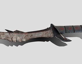 Daedric Dagger 3D model