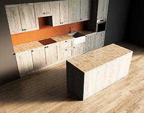 3D model 22-Kitchen10 texture 2