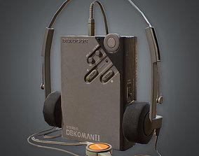 3D model 80s - Portable Tape Player