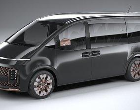 3D Hyundai Staria Premium 2022