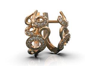 3D print model Earring B0-3010113