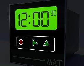 reloj industrial 3D model