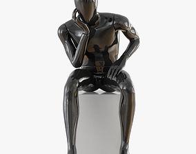 Faceless male mannequin 11 3D model