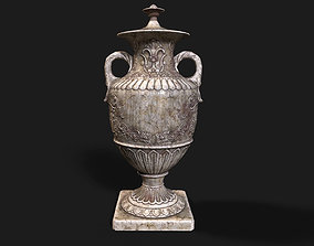 3D asset French Baroque Classical Style Urn Vase