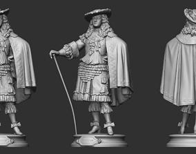 19th Century Man Sculpture 3D printable model