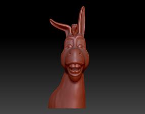 Donkey 3D print model