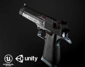Desert Eagle PBR 3D model