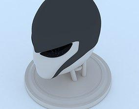 3D print model sci Female Robot Head