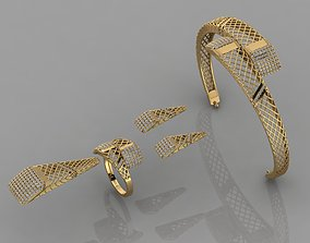 3D printable model GC GOLD M001 - Diamond set