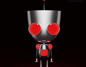 Gir from Invader Zim 3D model