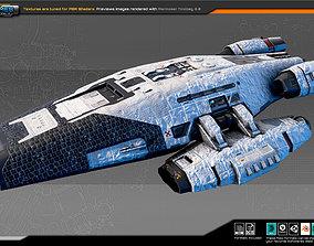SF Colony Cruiser CF5 3D asset