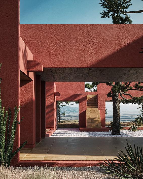 Casa de Terracota - Timelapse - 3Ds Max + Corona Renderer
