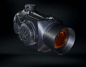 3D asset Vortex Sparc 2 Red Dot 2 MOA