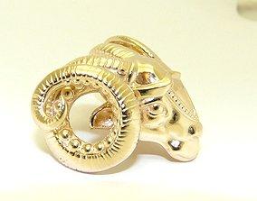 virgo 3D printable model Aries zodiac