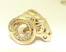 Aries zodiac 3D printable model