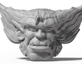 Marvel Legends Beast Head 3D print model
