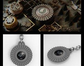 Stark gear keychain - Game of Thrones 3D print model