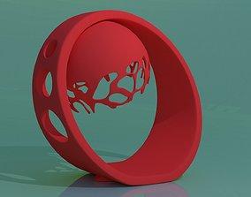3D printable model desktop lamp