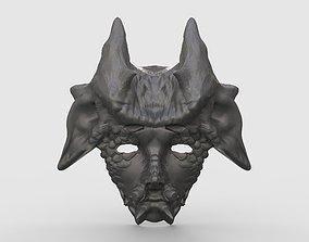 3D printable model The mask of mythological creatures