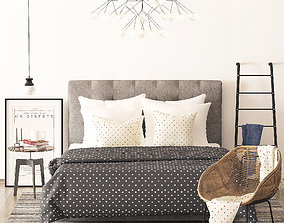 3D model Richmond bed from Heatherly design