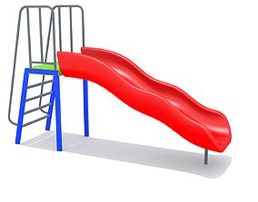 Mini Playground 3D asset