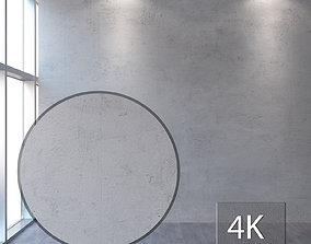 3D model Concrete wall 340