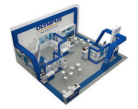 3D model OLYMPUS BOOTH DESIGN