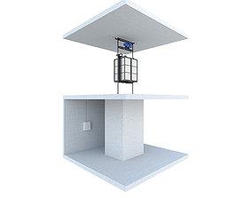 Industrial lift - Portal LC Partner 3 corona 3D