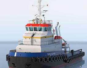 Shoalbuster Tug DMS Osprey 3D