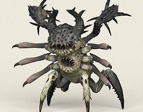 3D model Game Ready Monster Spider