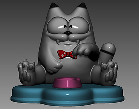 3D print model Stylized cat V3