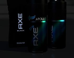 3D asset AXE Parfume Set