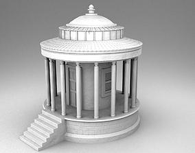 Temple of Vesta 3D printable model