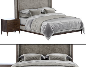 3D model RH The French Contemporary bed