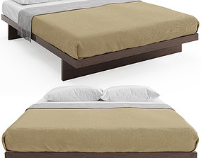 3D model Kyoto Japanese Bed