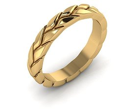 ring 3D print model Wedding Ring