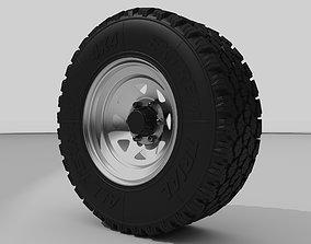 3D model Off road wheel