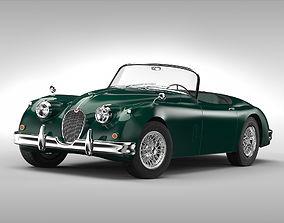 3D Jaguar XK150 1957-1961