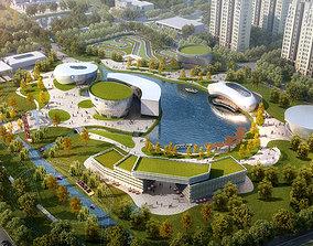 City Landscape 002 3D