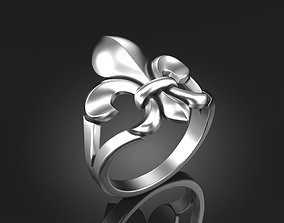 3D printable model Lily Ring