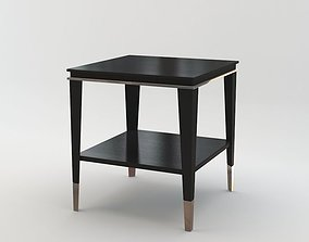 Black and Key - Rogers lamp table 3D