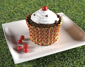 3D asset cake fbx