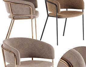 3D model La Forma stool Konnie